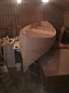 Canoe build project