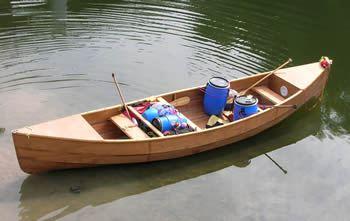 20' Freight Canoe, Canadian Canoe, Marine ply Canoe