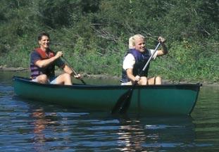 Mackinaw 156 Deluxe Canoe Go With The Flow River Adventures